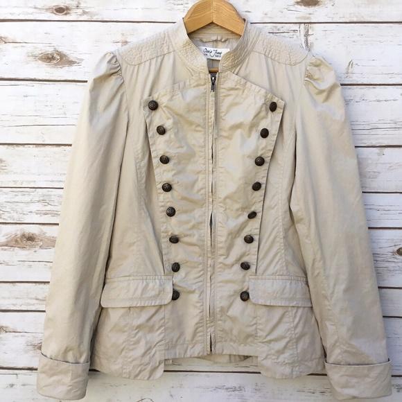 a8e0cd0048a Oasis Jeans Jackets & Coats | Beige Military Inspired Jacket | Poshmark